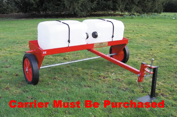 "Heavy Duty Carrier Frame | 40"" Towed Lawn Care System"